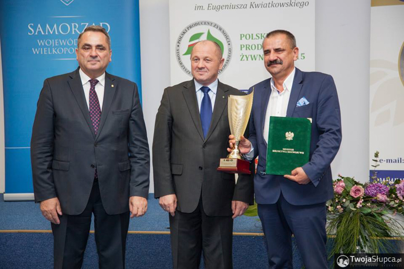 """Puchar """"Polski Producent Żywności"""" i Dyplom Ministra Rolnictwa i Rozwoju Wsi"""